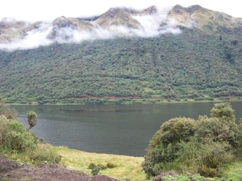 Laguna Papallacta.